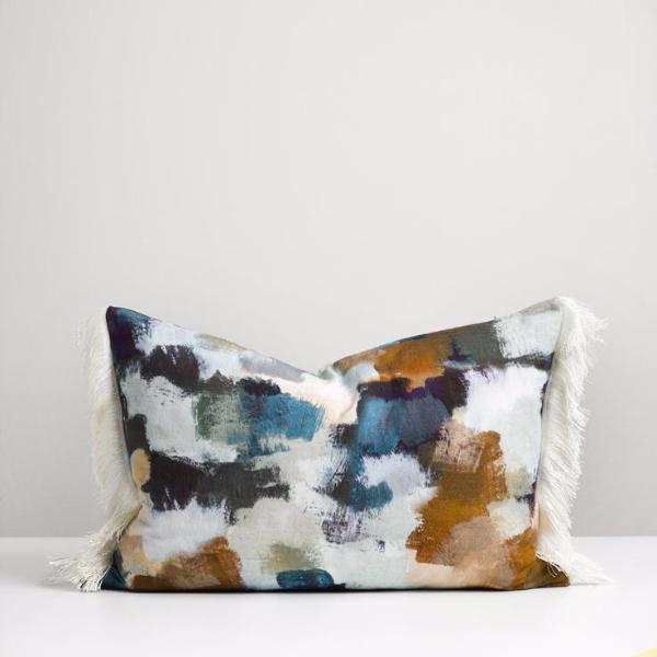 Florence Cushion With Fringe