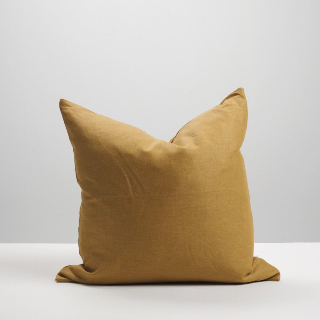 Cinnamon Linen Cushion