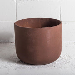 The Rustie Red cement pot