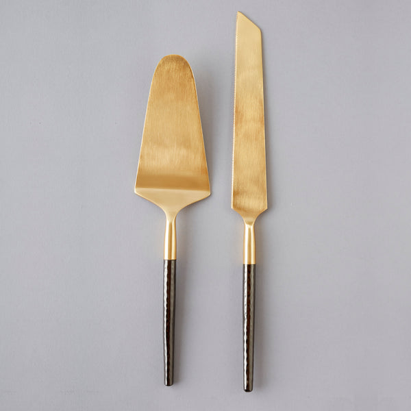 Santo Cake and Knife Set