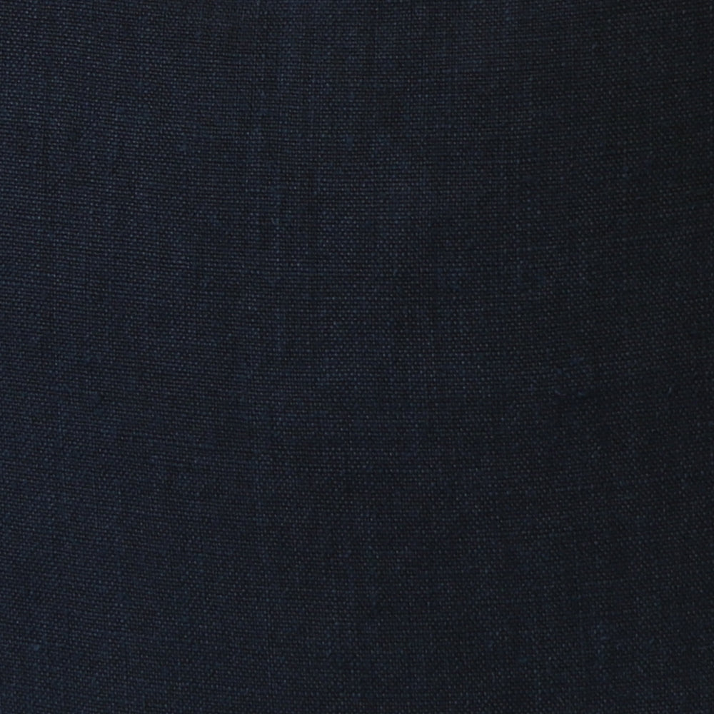 Navy Italian Linen Cushion