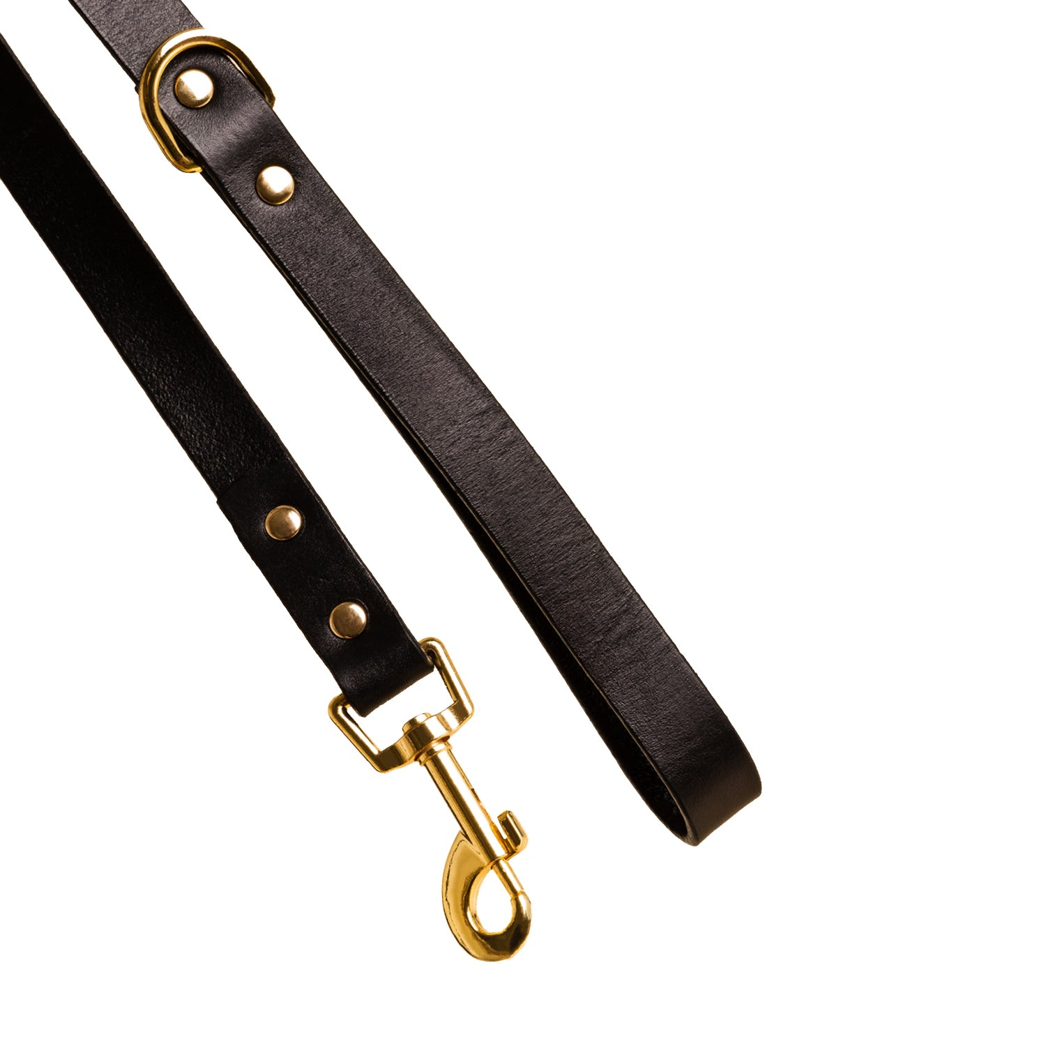 Leather Dog Lead - Sable