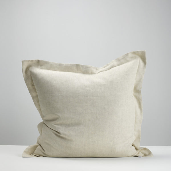 Natural european pillowcase