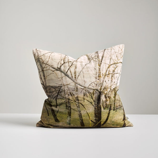 Winter Trees Velvet 50*50 Cushion
