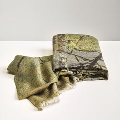 Winter Trees Merino Throw Limited Edition