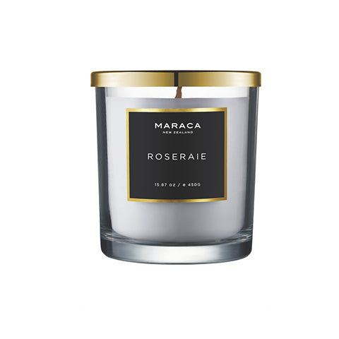 Luxury  Candle- Roseraie