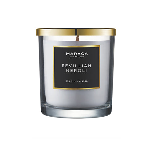 Luxury  Candle- Sevillian Neroli