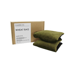 Wheat Bag - Olive Velvet