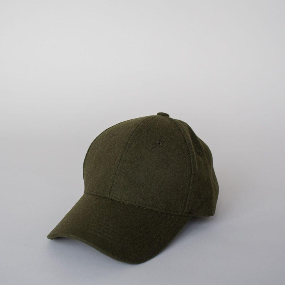 Wool Cap - Forest Green