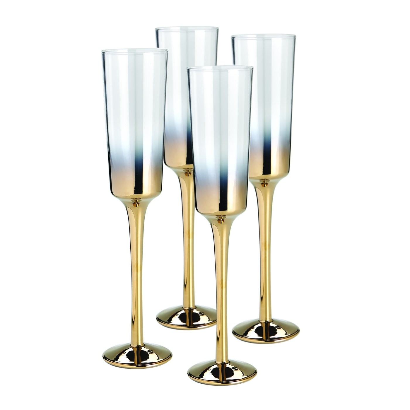 Champagne Flutes - set of 4