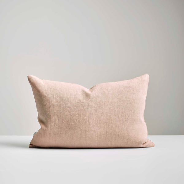 Blush Italian Linen Cushion
