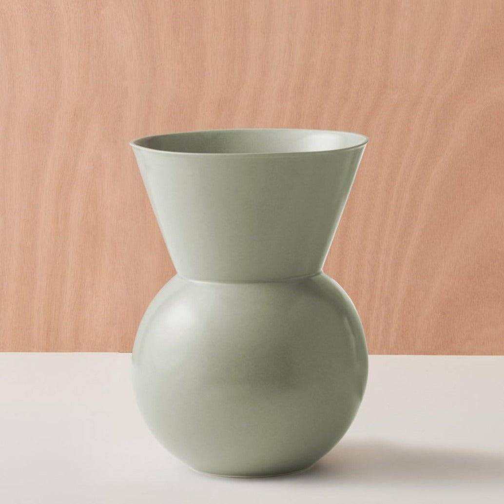 Bulb Vase - French Green - Large