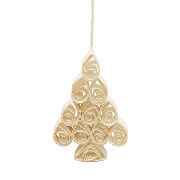 Curled Paper Tree Decoration