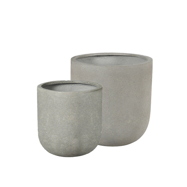 Kaweka Planter - Stone Grey