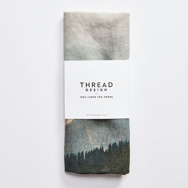 Altitude Linen Tea Towel