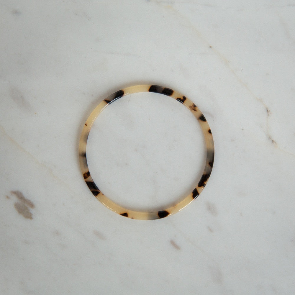 Torty Bangle - Light Tort