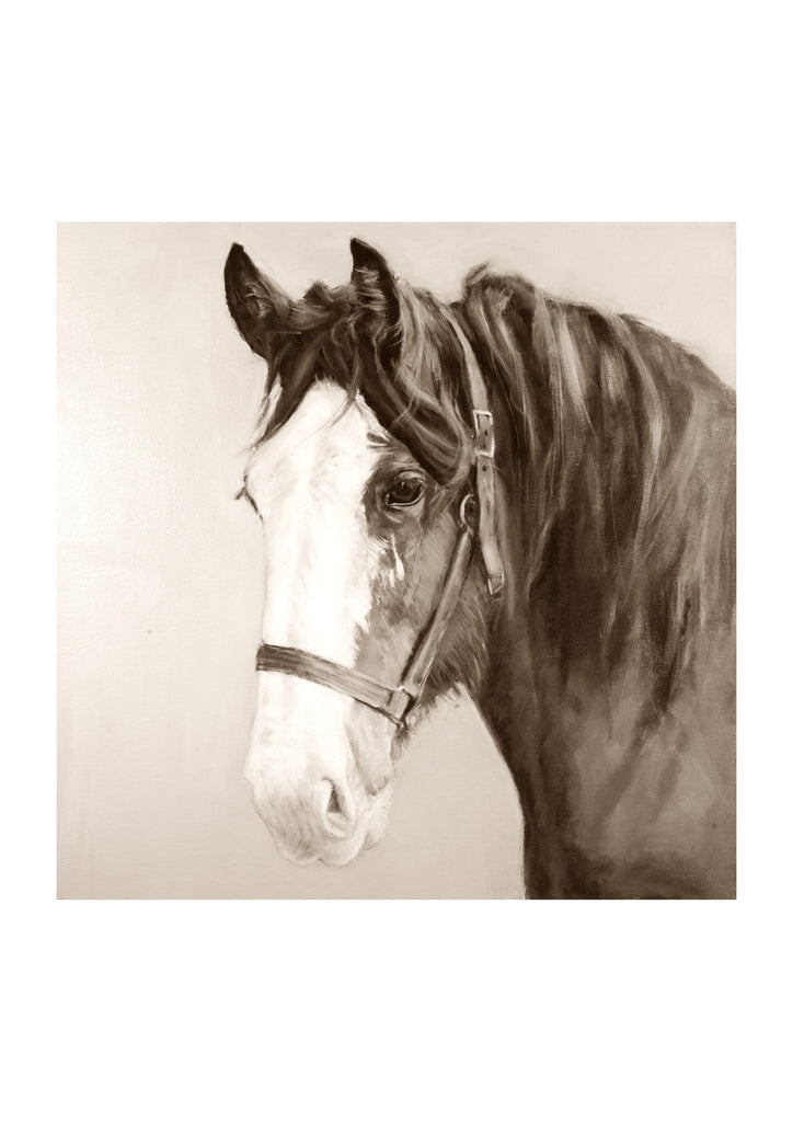 Fine Art Print of ' Clyde ' sepia