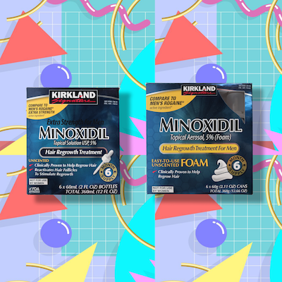 Buying Kirkland Minoxidil Foam and Liquid In Canada