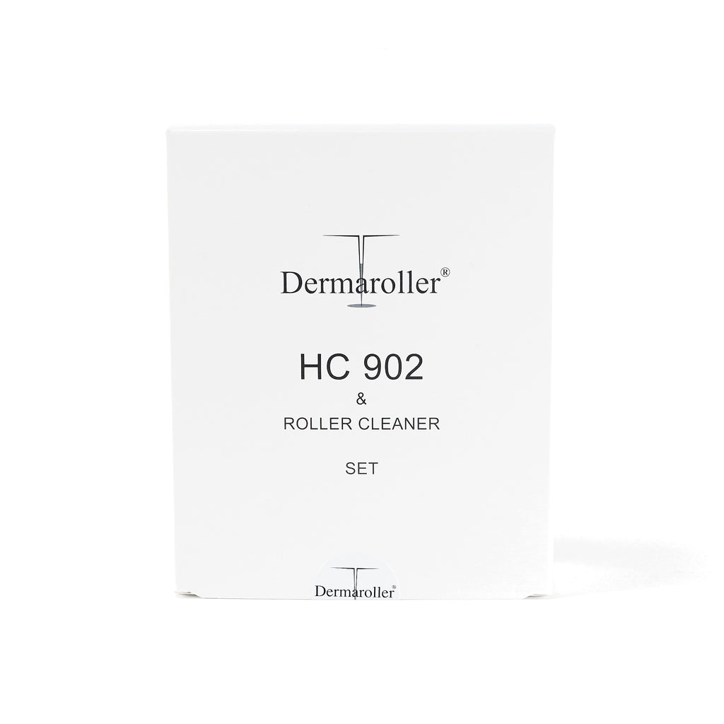 Dermaroller HC 902 Roller & Cleaner Micro Needle Minoxidil Absorption Set