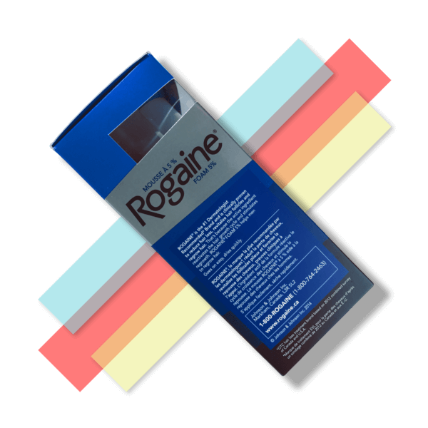 Men's Rogaine Minoxidil Foam - 5% - 4 Month Supply