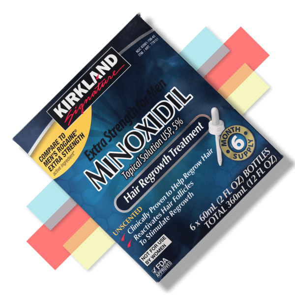 Kirkland Minoxidil Liquid - 5% - 6 Month Supply