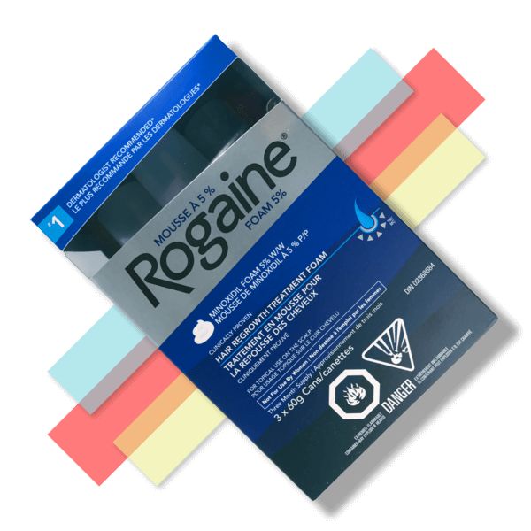 Men's Rogaine Minoxidil Foam - 5% - 3 Month Supply