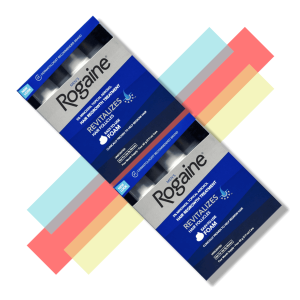 Men's Rogaine Minoxidil Foam - 5% - 8 Month Supply