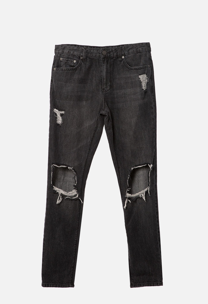 Destructed Denim Pant