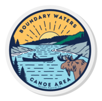 Boundary Waters - Basswood Lake Pin - Humble Apparel Co