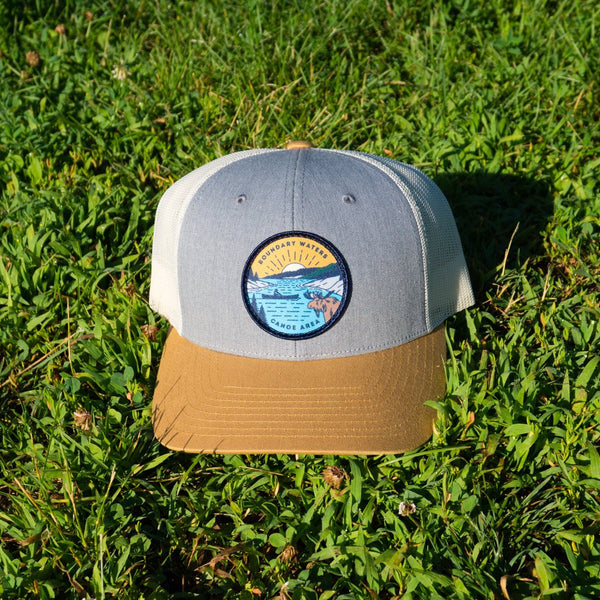 Boundary Waters Canoe Trip Cap (Tri-color) - Humble Apparel Co