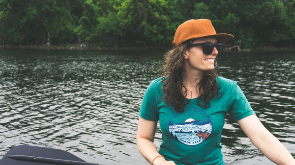 Boundary Waters - Basswood Lake Women's T-Shirt, Shirts - Humble Apparel Co