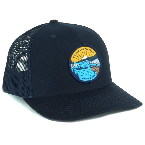 Boundary Waters Canoe Trip Cap (Navy), Caps - Humble Apparel Co