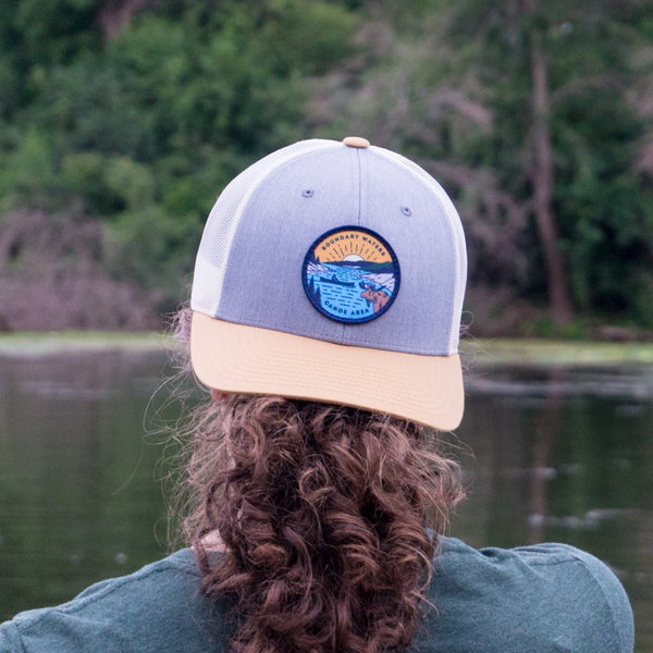 Boundary Waters Canoe Trip Cap (Tri-color), Caps - Humble Apparel Co