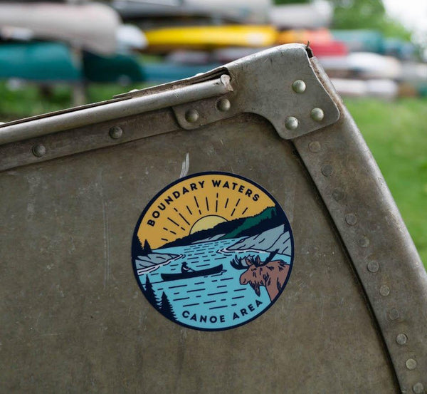 Boundary Waters Canoe Trip Sticker, Stickers - Humble Apparel Co