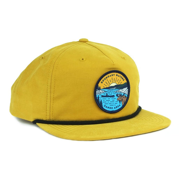 Boundary Waters Canoe Trip Cap - Yellow - Humble Apparel Co
