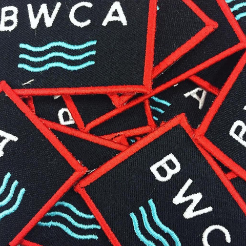 BWCA Waves Patch, Patch - Humble Apparel Co