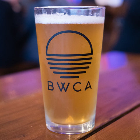 BWCA Sunset Pint Glass Set - Humble Apparel Co