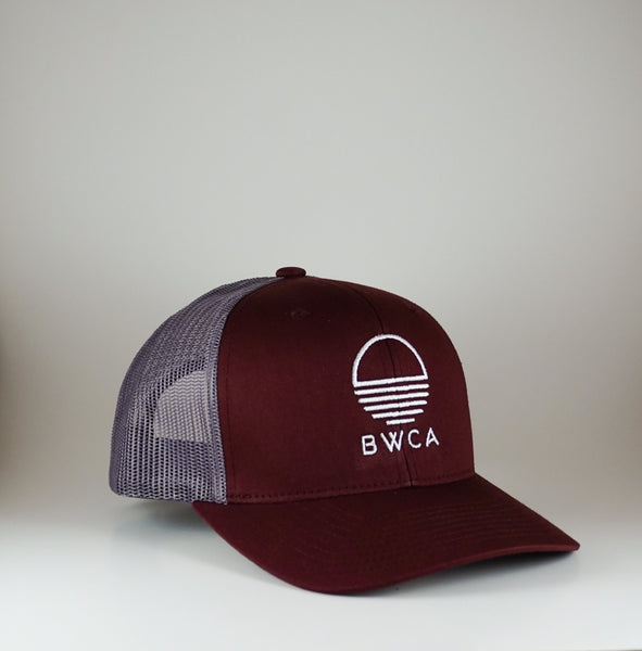 BWCA Sunset Cap - Burgundy