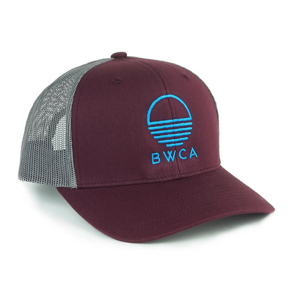 BWCA Sunset Cap - Burgundy, Caps - Humble Apparel Co