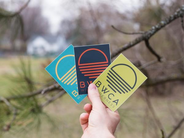 BWCA Wilderness Sunset Sticker, Stickers - Humble Apparel Co