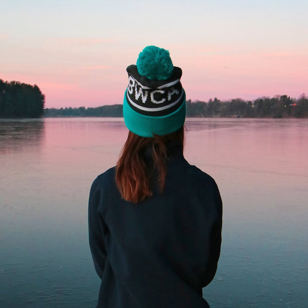 BWCA Stocking Cap - Teal, Caps - Humble Apparel Co