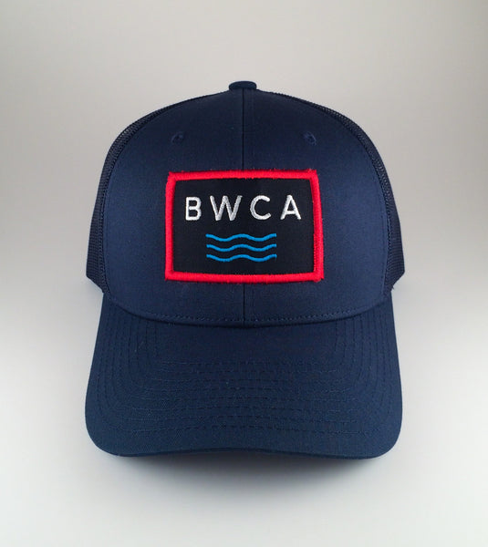 Boundary Waters Waves Trucker Cap