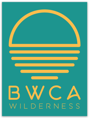 BWCA Wilderness Sunset Sticker
