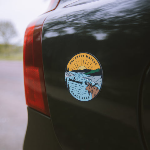 Boundary Waters Canoe Trip Magnet, Magnet - Humble Apparel Co
