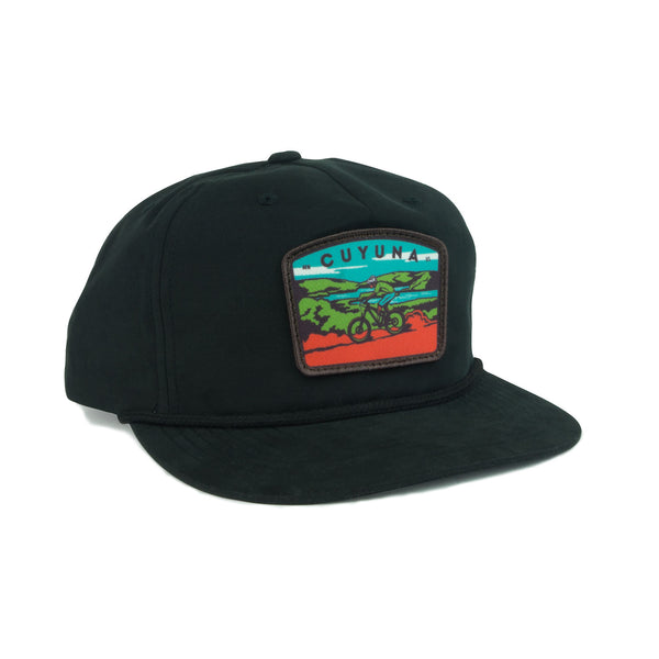 Cuyuna Mountain Biker Flatbill Cap, Caps - Humble Apparel Co