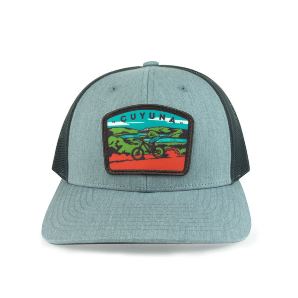 Cuyuna Mountain Biker Cap (Black) - Humble Apparel Co