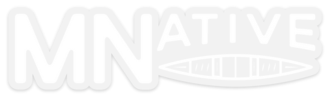 MNative Canoe Sticker