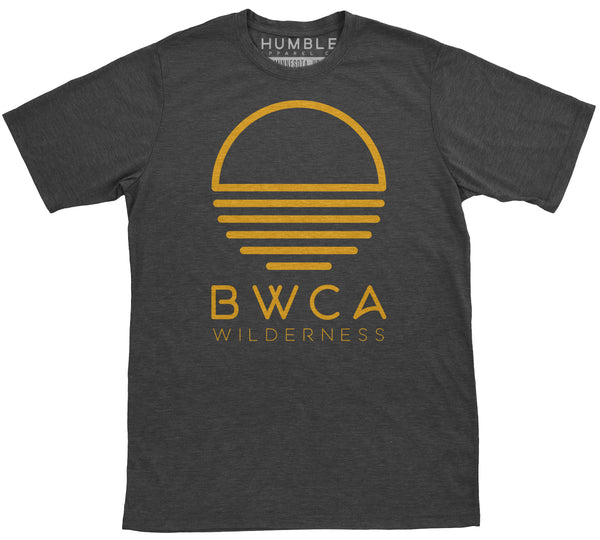 BWCA Sunset Wilderness T-Shirt - Charcoal - Humble Apparel Co