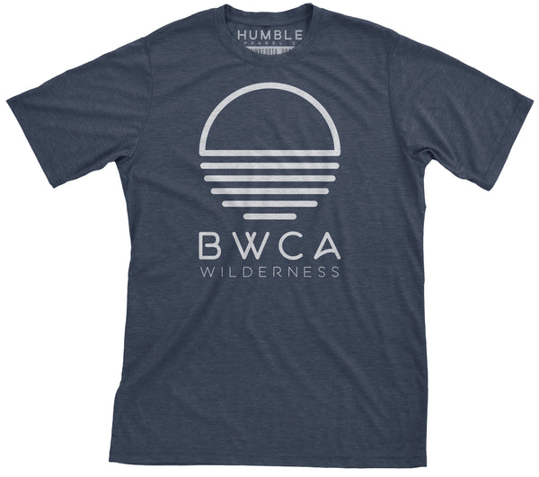 BWCA Sunset Wilderness T-Shirt - Midnight Navy, Shirts - Humble Apparel Co