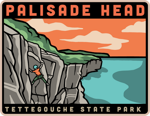 Palisade Head Climbing Magnet, Magnet - Humble Apparel Co